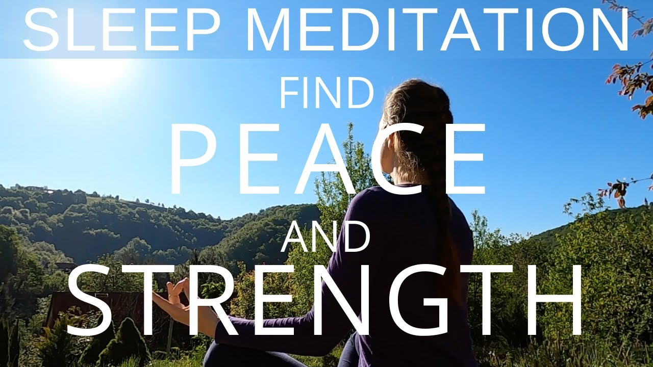 Guided Meditation Find Peace & Strength in Uncertain Times | Sleep Talk Down | Progressive Hypnosis