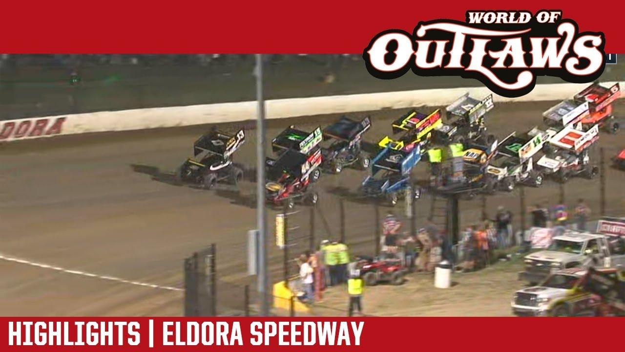 world-of-outlaws-craftsman-sprint-cars-eldora-speedway-july-14-2018-highlights