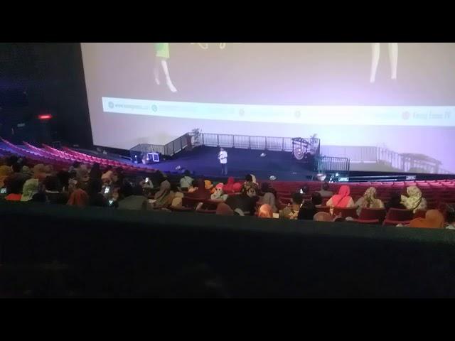 Tedy pre Open GalaPremier Film Dongeng Musical Keongemas TMII