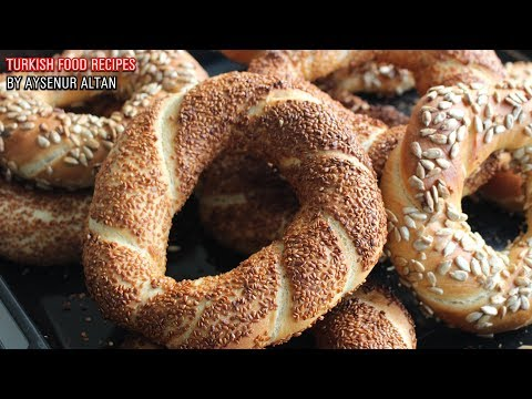How To Make Simit (Turkish Sesame Bagel Bread) At Home | Best Tips To Shape And Two Coatings