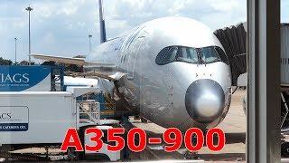 """Lần đầu trải nghiệm máy bay A350 """"Siêu to khổng lồ"""" của Vietnam Airlines."""