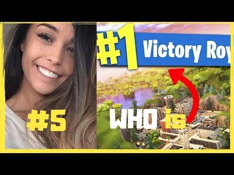 Top 5 Best FEMALE Fortnite Players In The World!