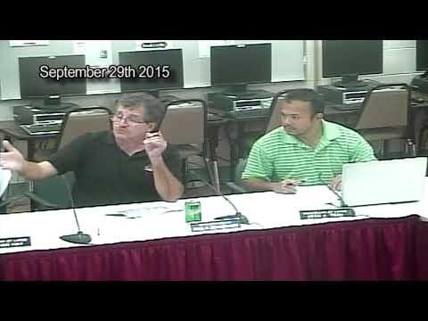 Finance Committee September 29, 2015