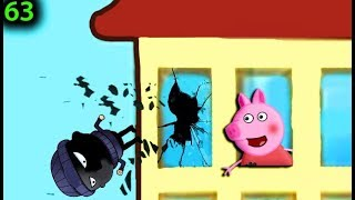 Мультики Свинка Пеппа на русском peppa 63 ВОР В ОКНЕ Мультфильмы для детей свинка пеппа