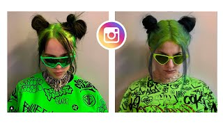 ΑΝΤΙΓΡΑΦΩ ΤΟ INSTAGRAM ΤΗΣ BILLIE EILISH | Katerina Vlachou