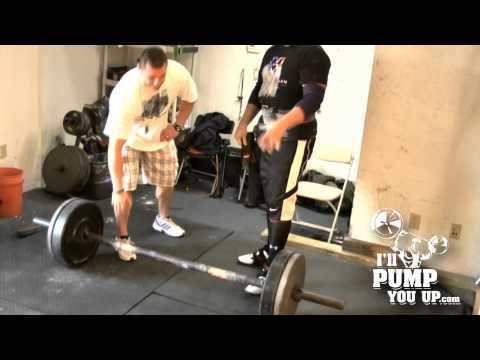 How To Do An Axle Press with Strongman Competitor Phil McNabb