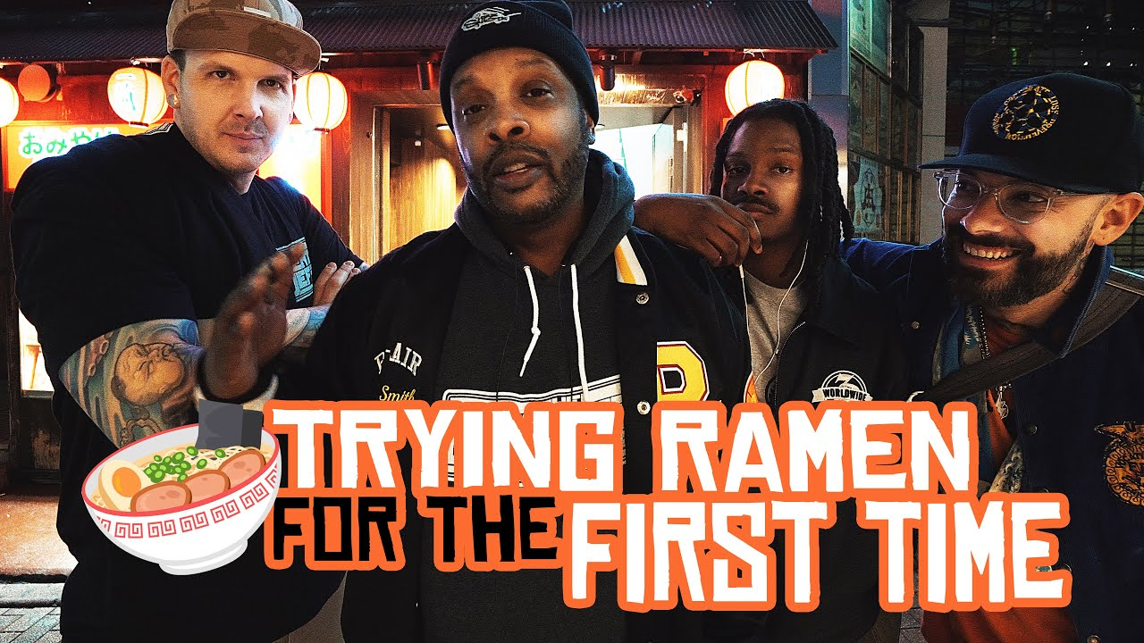 DJ Jazzy Jeff Tries Ramen for the First Time