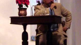 William Ospina se refiere a Estanislao Zuleta y a su relación con él. Cali, Diciembre 6 de 2012