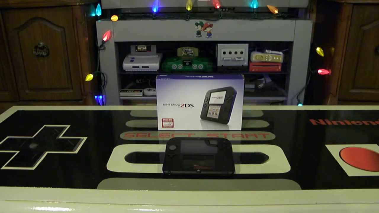Nintendo Christmas 2013: A 2DS for Me to be Happy (Day 2 of 12 ...