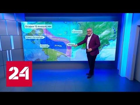 """""""Погода 24"""": в Москве может быть установлен температурный рекорд - Россия 24"""