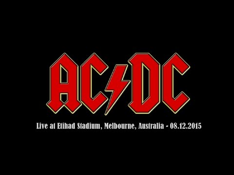 AC/DC - Live at Etihad Stadium, Melbourne, Australia 2015 (entire gig)