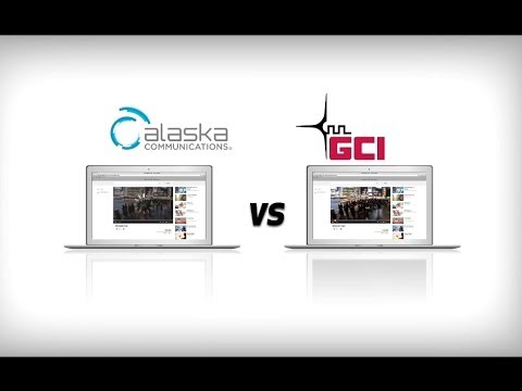 Compare: Alaska's Fastest Broadband from GCI