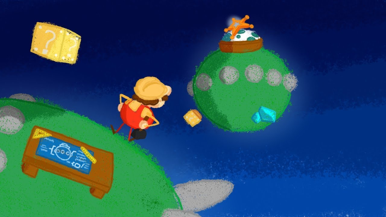Do you want to help make Super Mario Galaxy Levels?