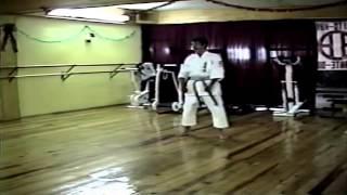 Kata Heian Shodan y su Bunkai por el Sensei Hugo Baruch y Rubén Moreno Shito Kai Zacatecas