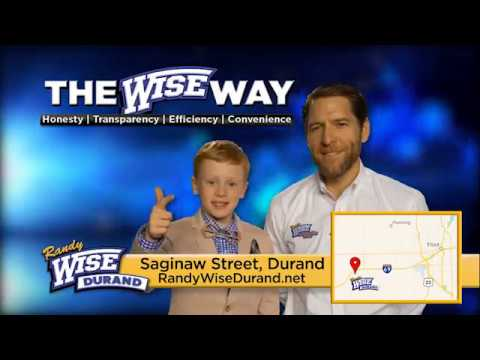 Randy Wise Durand >> Make The Wise Choice With Randy Wise Durand