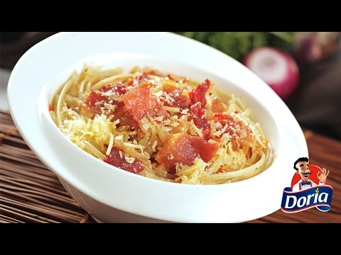 spaghetti tocino aji
