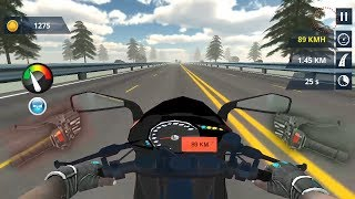 Highway Rider Moto Racer Android Gameplay