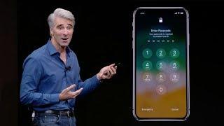 Face ID Fail incredibile durante la presentazione di iPhone X