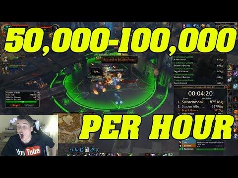 BFA: 50,000g - 100,000g PER HOUR! | Hook Point | INSTANT RESPAWN