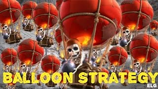 3 Star With Balloon Attack Strategy Gameplay - Clash of Clans