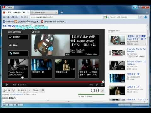 _How to Download Video from Youtube with Opera USB 11.50_