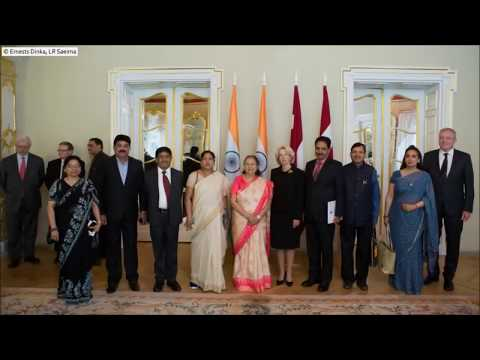 Indian Parliamentary delegation's visit to Latvia, June 2018