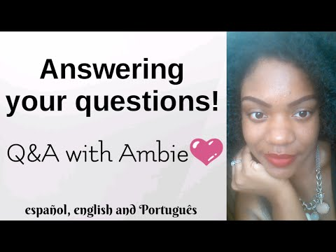 Q&A: ALL OF YOUR QUESTIONS ANSWERED | respondiendo a sus preguntas 😎