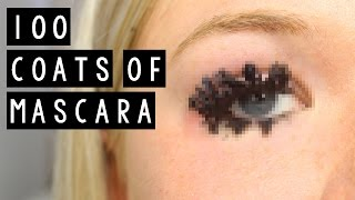100 COATS OF MASCARA thumbnail