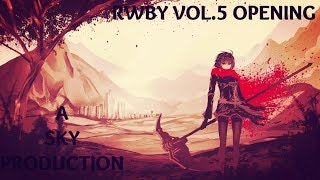 RWBY Volume 5 Opening (The Triumph) - Video Game Music Video