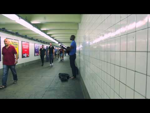 Damiyr - Who Am I To Say (Hope) in the subway! So Beautiful!!!!!