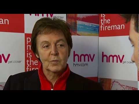 Sir Paul McCartney interview on The Fireman