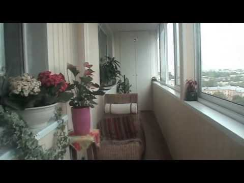 Гардеробная комната с балкона
