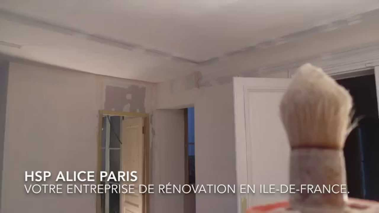 hsp alice entreprise de r novation d 39 appartements paris youtube. Black Bedroom Furniture Sets. Home Design Ideas