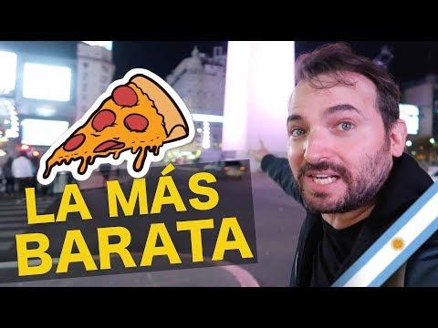 LA PIZZA MAS BARATA DE BUENOS AIRES