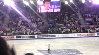 GPF-2015 (FP-1º) Yuzuru HANYU (SEIMEI) World Record!! My present to JAPAN!!