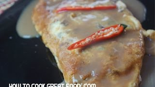 Egg Foo Young Recipe - Minced Beef Chili - Fooyung Chinese 芙蓉蛋