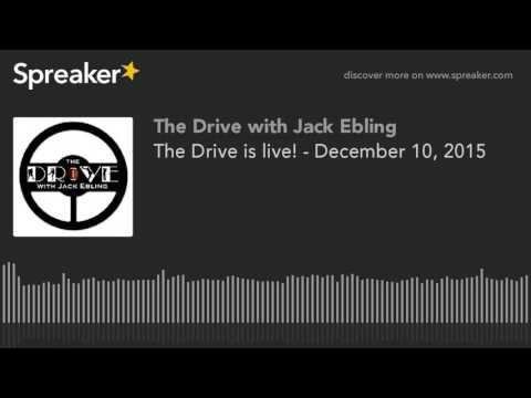 The Drive is live! - December 10, 2015