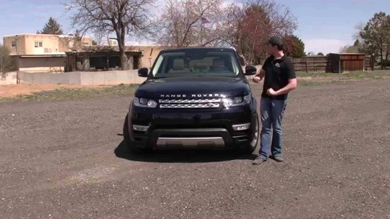 Real First Impressions Video 2014 Range Rover Sport HSE 30 V6