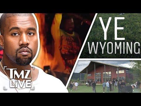Kanye West  The Wyoming Album Release | TMZ Live