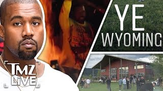 Kanye West  The Wyoming Album Release | TMZ Live