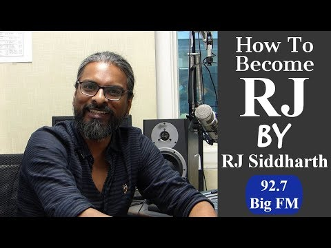 How to Become a Radio Jockey: RJ Siddharth Sharing his Life Journey at ChetChat | 92.7 Big FM