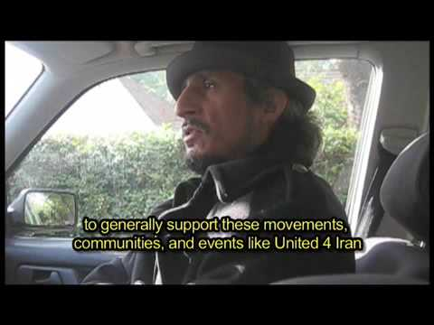 Message to the People of Iran from Mohsen Namjoo (12-12 Arts United 4 Iran)