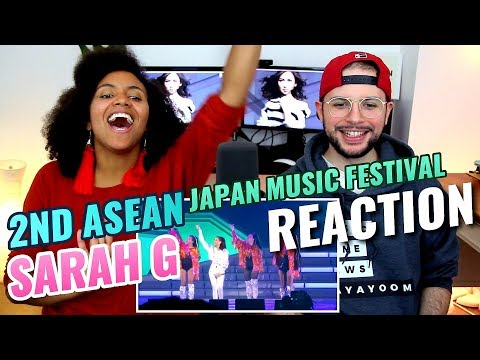Sarah Geronimo ー Kilometro & Tala | The 2nd ASEAN Japan Music Festival | REACTION