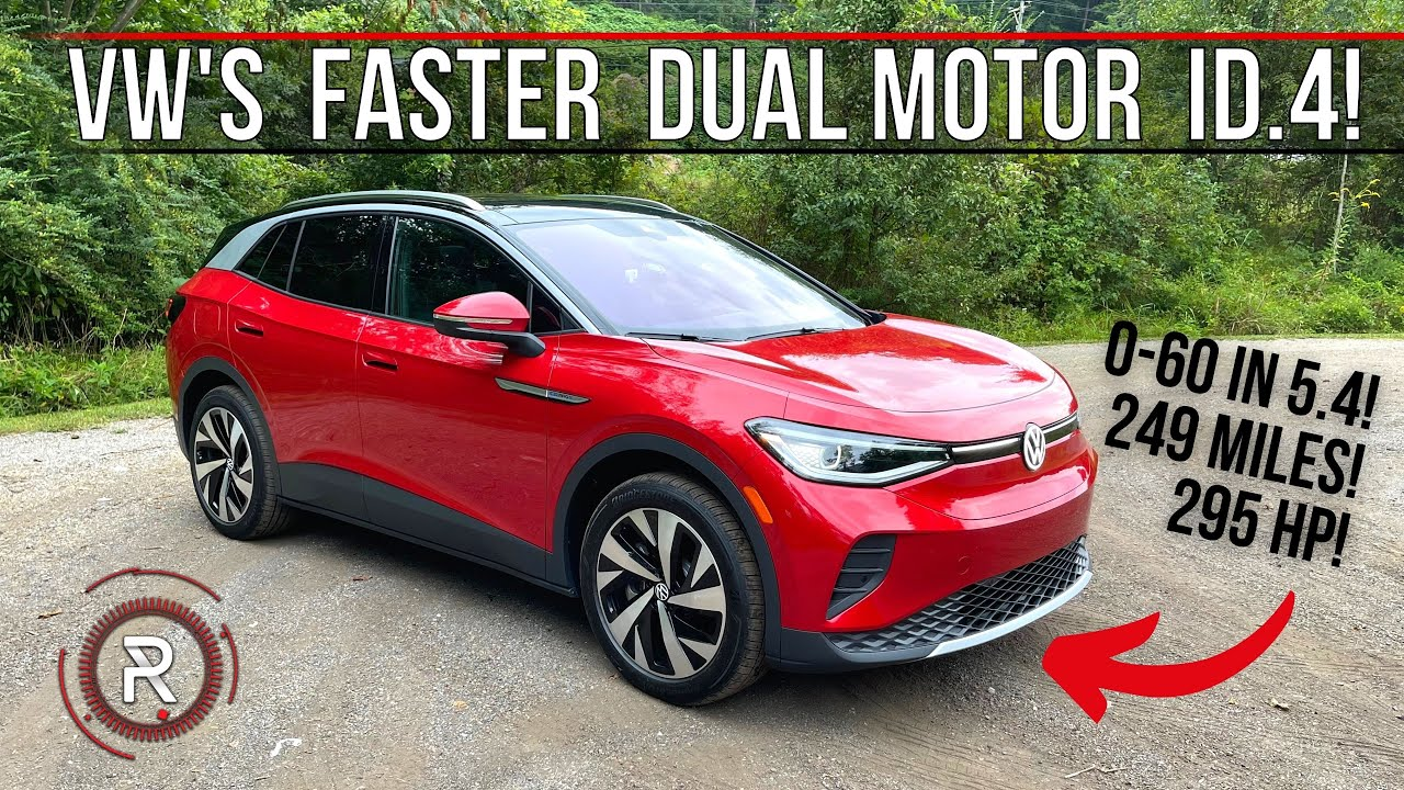 The 2021 VW ID4 Dual Motor AWD Is A Quick u0026 Affordable Electric Long Range SUV