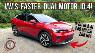 The 2021 VW ID.4 Dual Motor AWD Is A Quick & Affordable Electric Long Range SUV