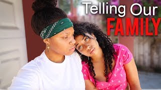 Telling Our *FAMILY* we are in LOVE!😱 (Didn't EXPECT THIS)