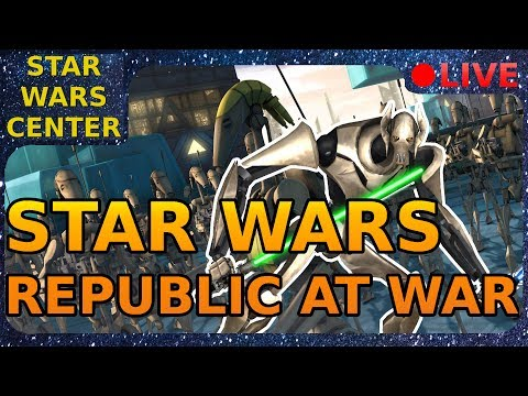 Star Wars Republic At War Live Stream - Q&A in the Chat :) - Road to 90 Subs - English only