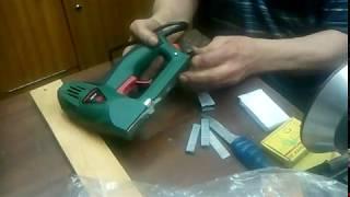испытание и обзор электростеплера