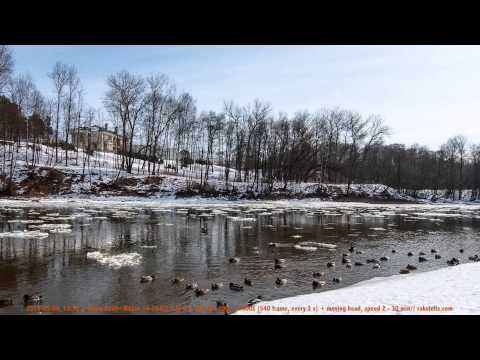 2013-03-09 Vilnius-Neris time lapse test