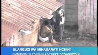 Vita ya madawa ya kulevya Kenya via K24Tv